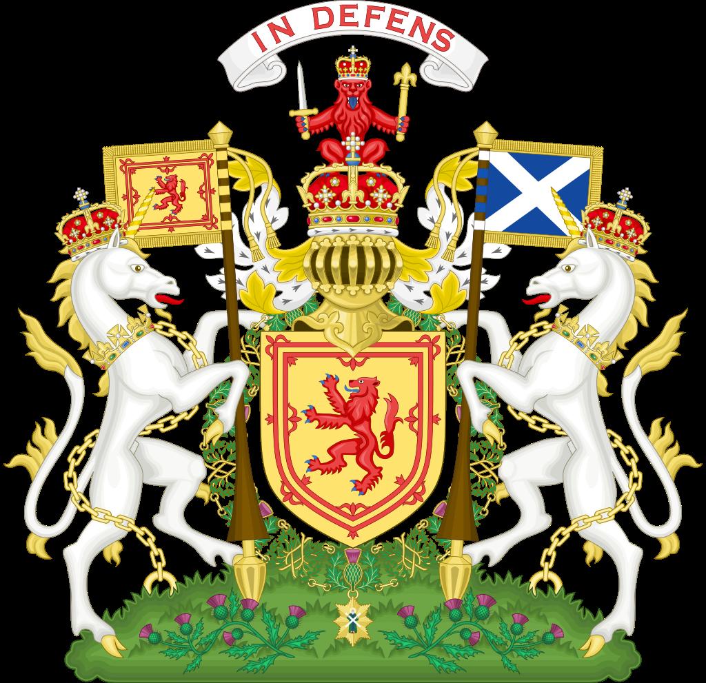 Escudo de Escocia