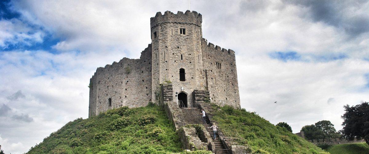 Castillo de Cardiff, Gales